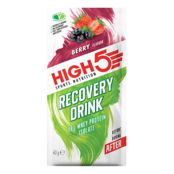 HIGH5 RECOVERY DRINK BERRY PULVERIS