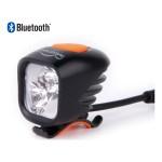 MAGICSHINE MJ-902B BLUETOOTH SMART USB GALVAS UN VELO LAMPA, 1600 LUMENI