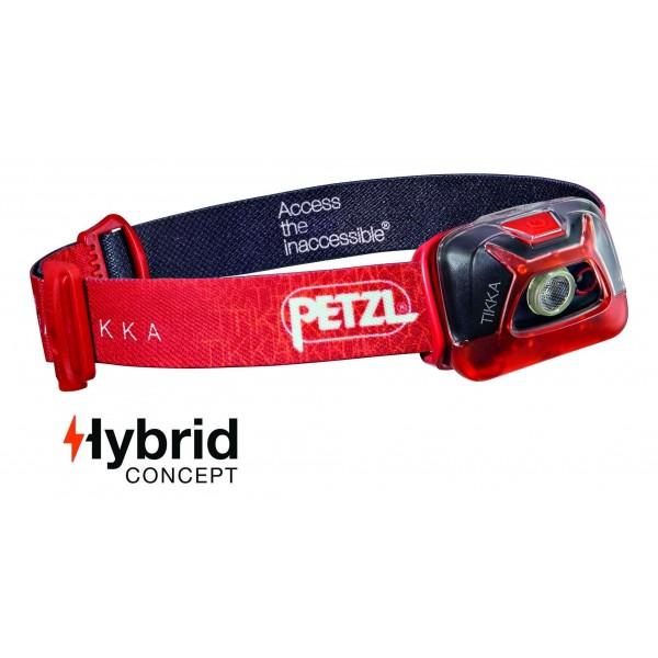 PETZL TIKKA HYBRID 200LM PIERES LUKTURIS